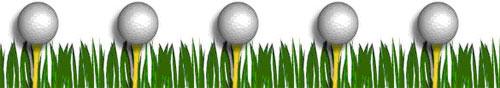golf ball border clip art - photo #32